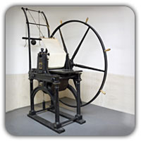 Penny Black printing press